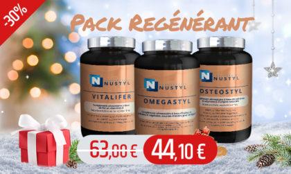 Le pack Régénérant : cible 3 métabolismes : le FER le CALCIUM et les GRAISSES.